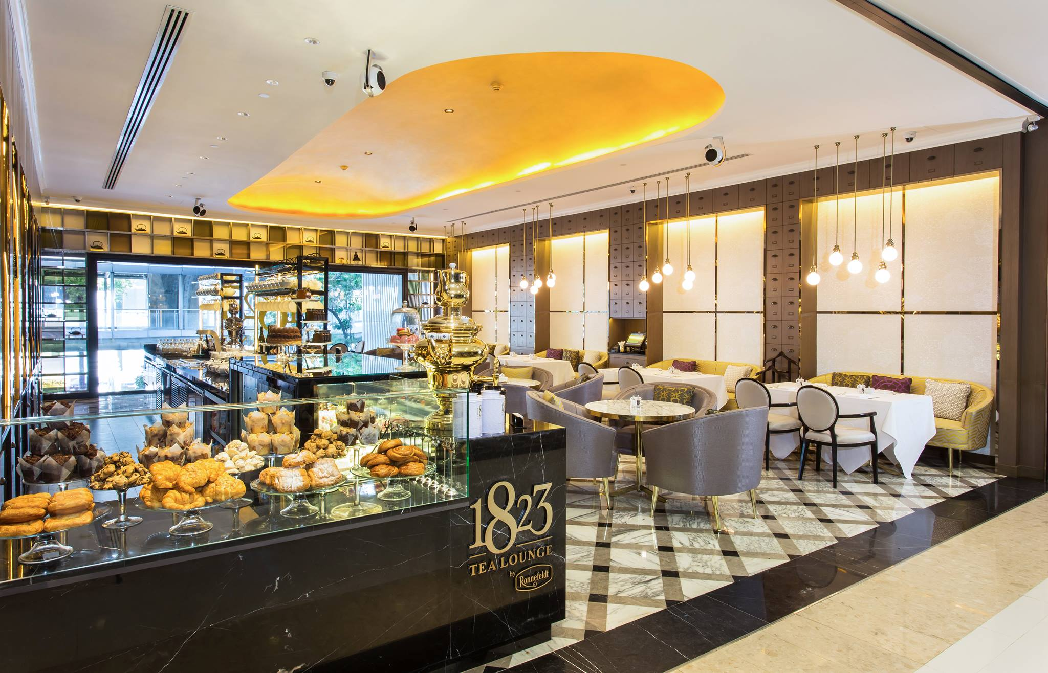 1823 Tea Lounge & Boutique by Ronnefeldt Gaysorn Village 曼谷下午茶