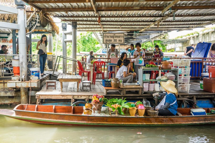 大林江水上市場Taling Chan Floating Market 離曼谷最近的觀光水上市場