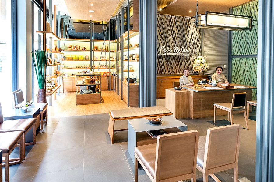 Let's Relax Spa Phayathai店 下飛機第一站就能到的Spa