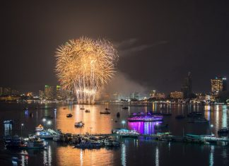 2018芭堤雅國際煙火節Pattaya International Fireworks Festival