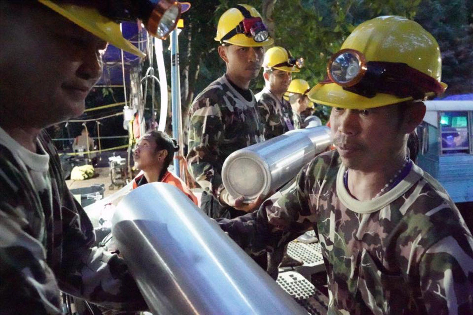 睡美人山洞 救援 Tham Luang Nang Non 美賽 國際 聯合搜救