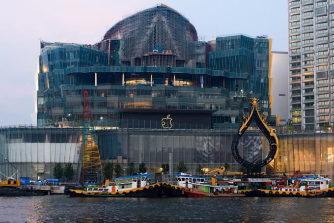 Apple ICONSIAM 泰國蘋果