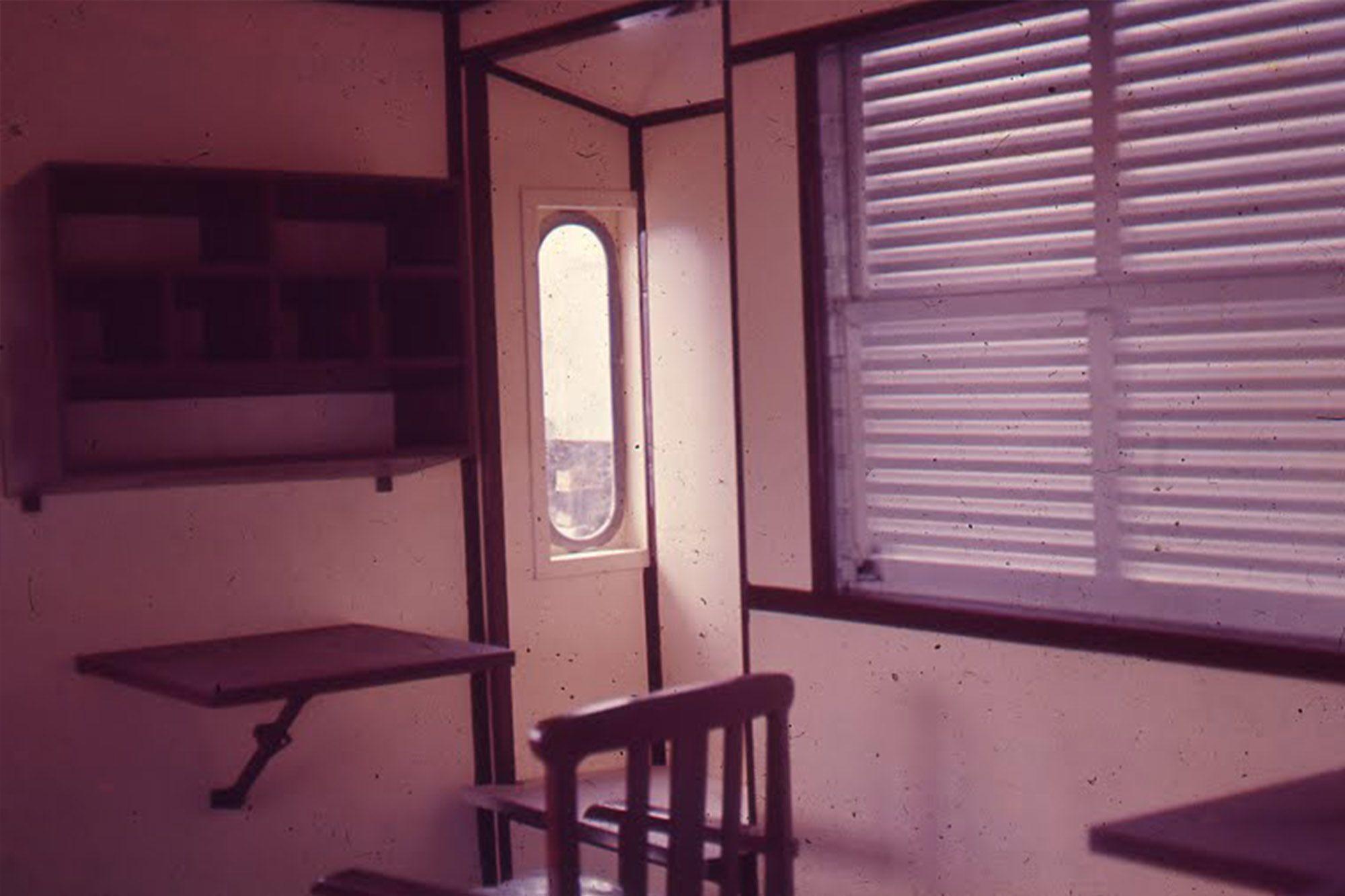 台北機廠當年製造銷往泰國的守車終於回國了(圖片:台鐵提供)
