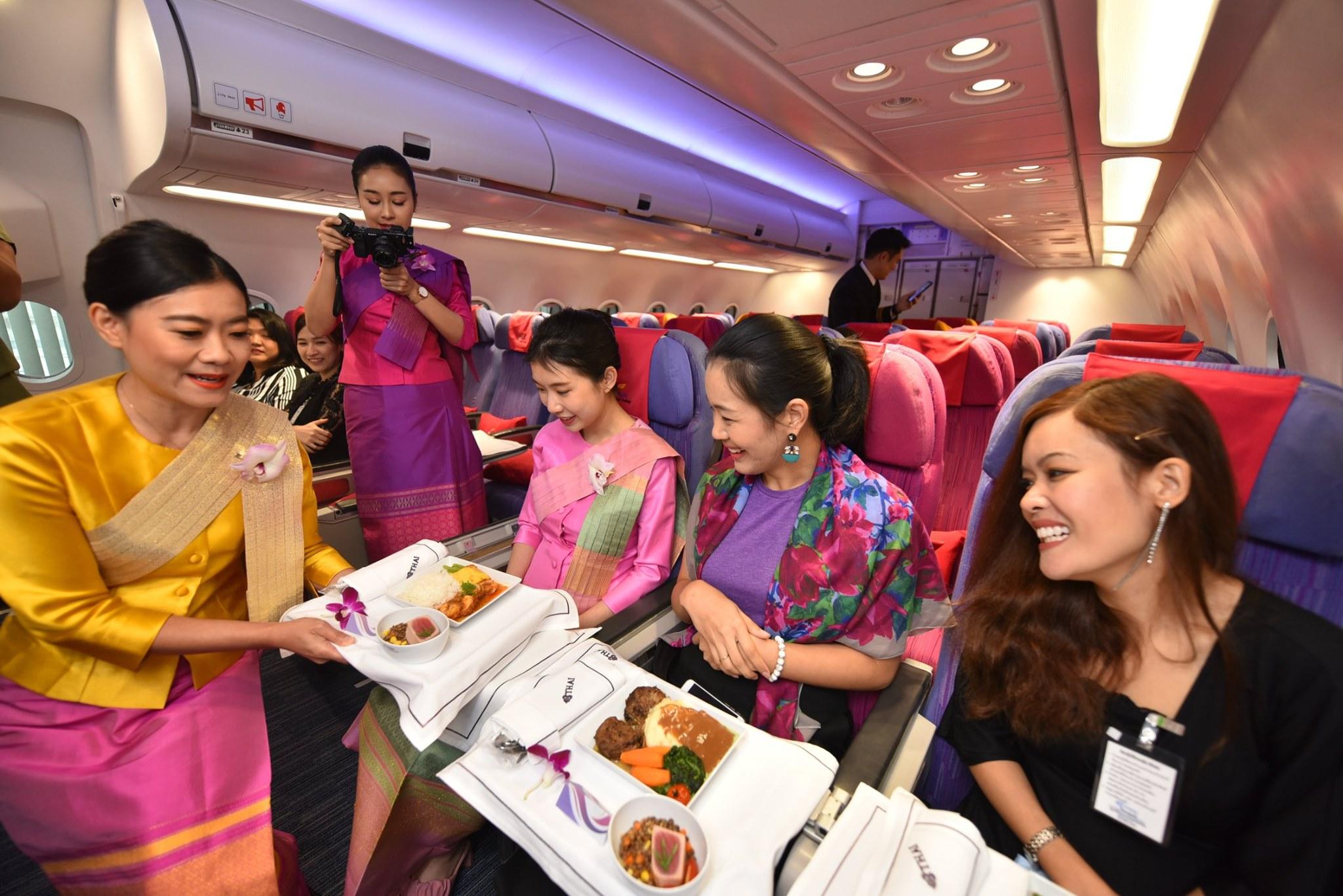 泰航一日空姐體驗(圖片來源:thaiflighttrainingacademy臉書)