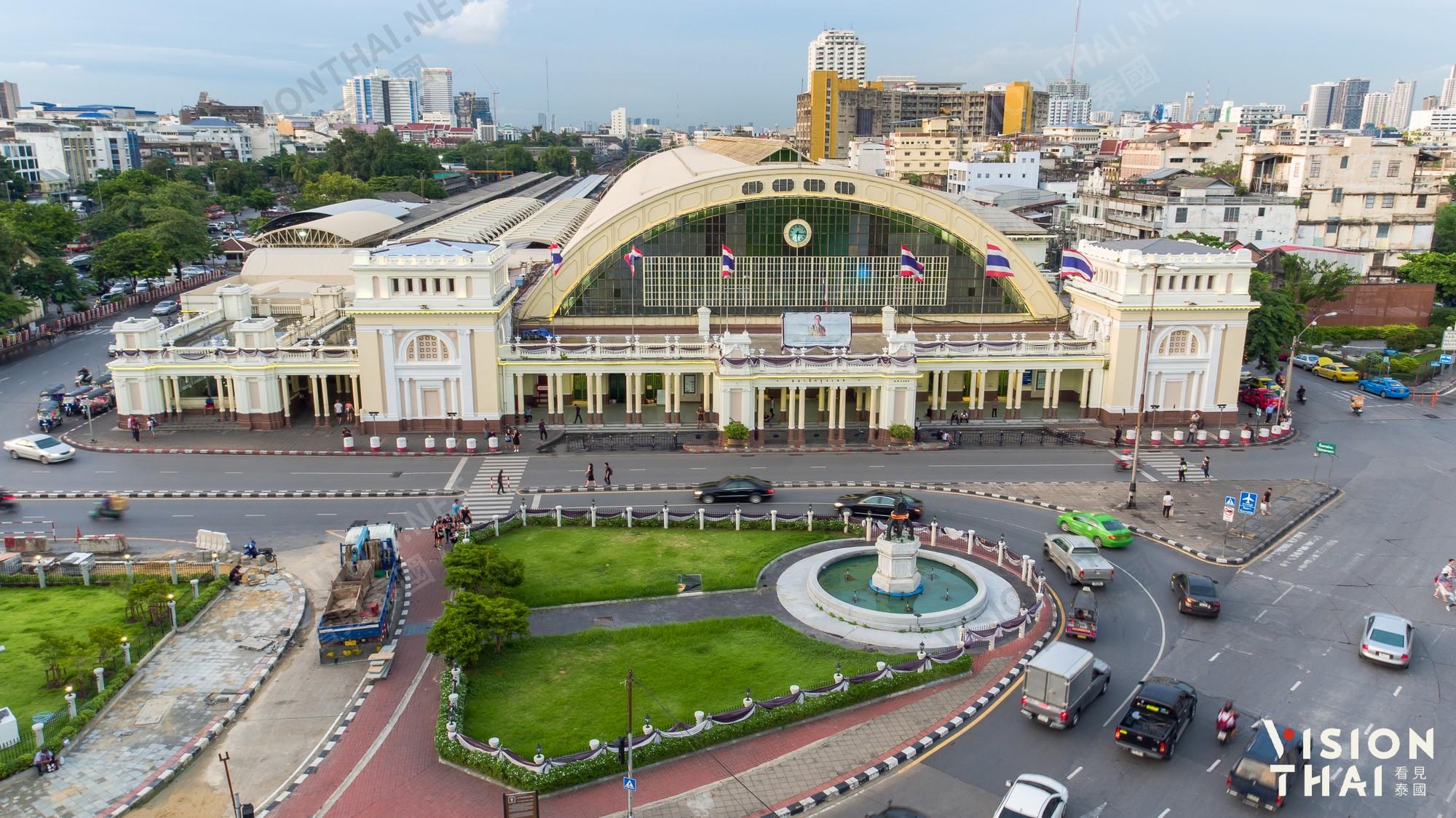 曼谷火車站華藍蓬服務逾百年 11月關站改作泰國鐵道博物館(圖片:VISION THAI 看見泰國)