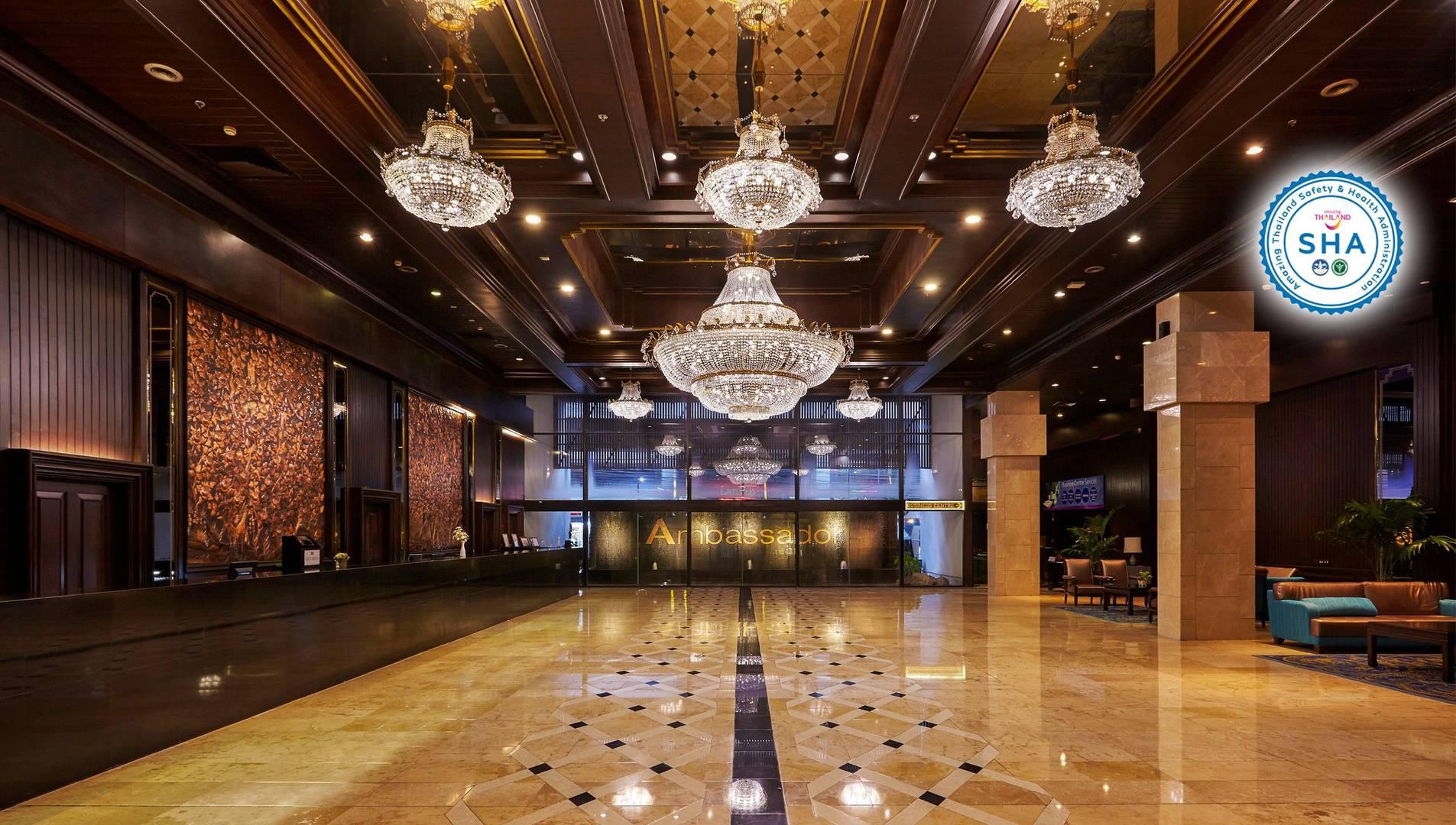 曼谷國賓大飯店 ASQ隔離住宿飯店(圖片來源:Ambassador Hotel Bangkok官網)
