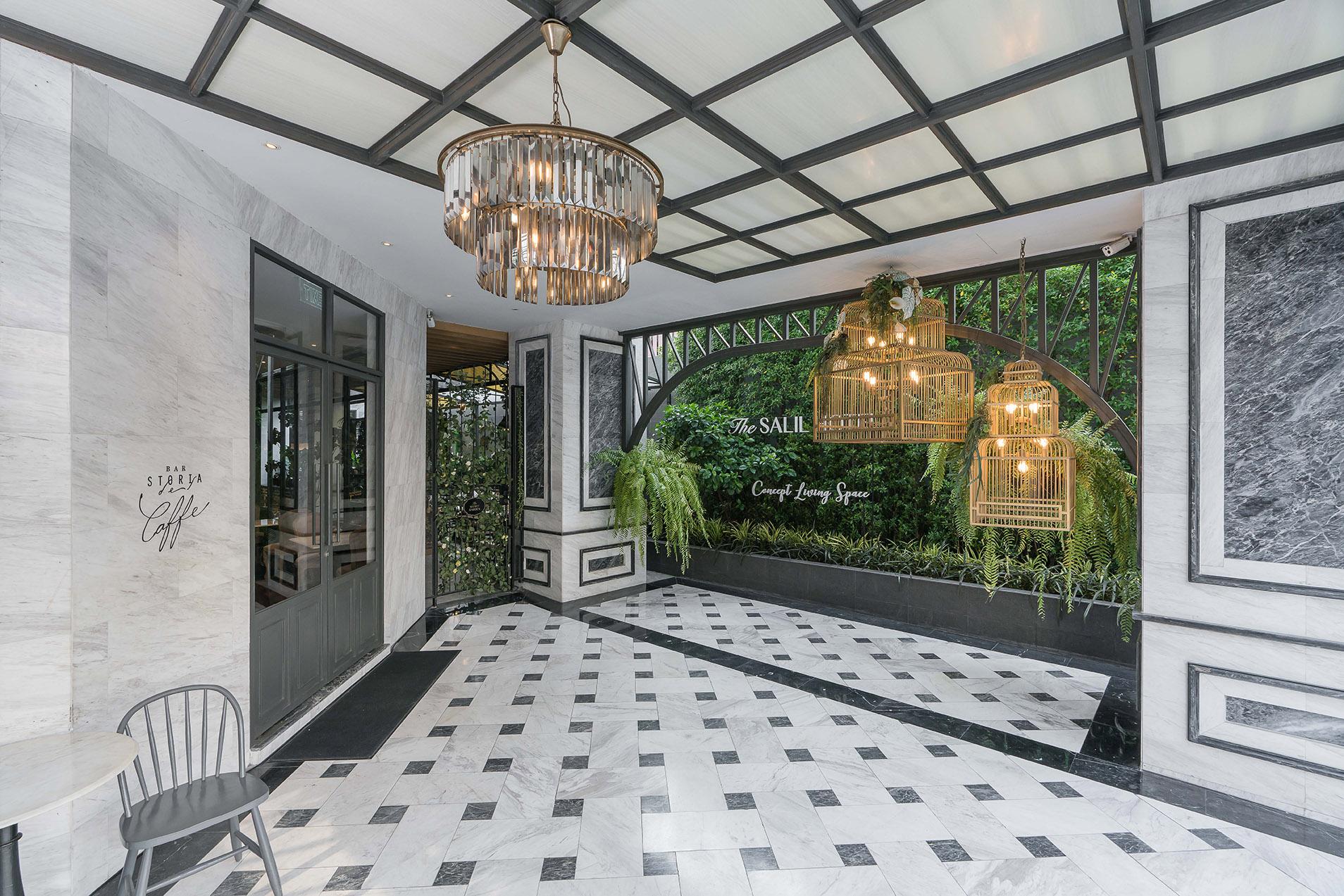曼谷素坤逸57号萨利酒店 (图片来源:The Salil Hotel Sukhumvit 57 – Thonglor)