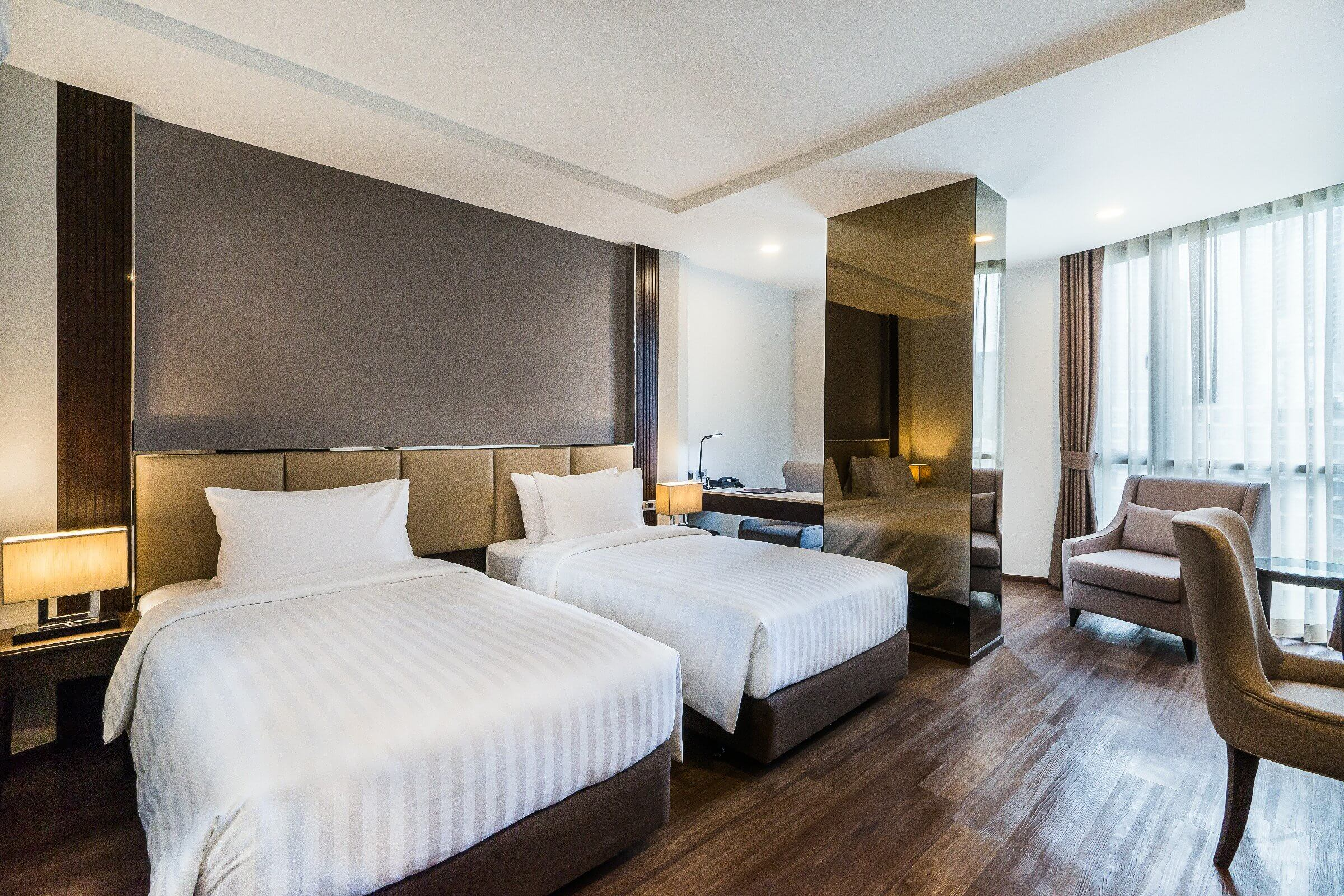 曼谷素坤逸2巷最佳西方舒心酒店 ASQ隔离住宿(图片来源:SureStay Plus Hotel by Best Western Sukhumvit 2官网)