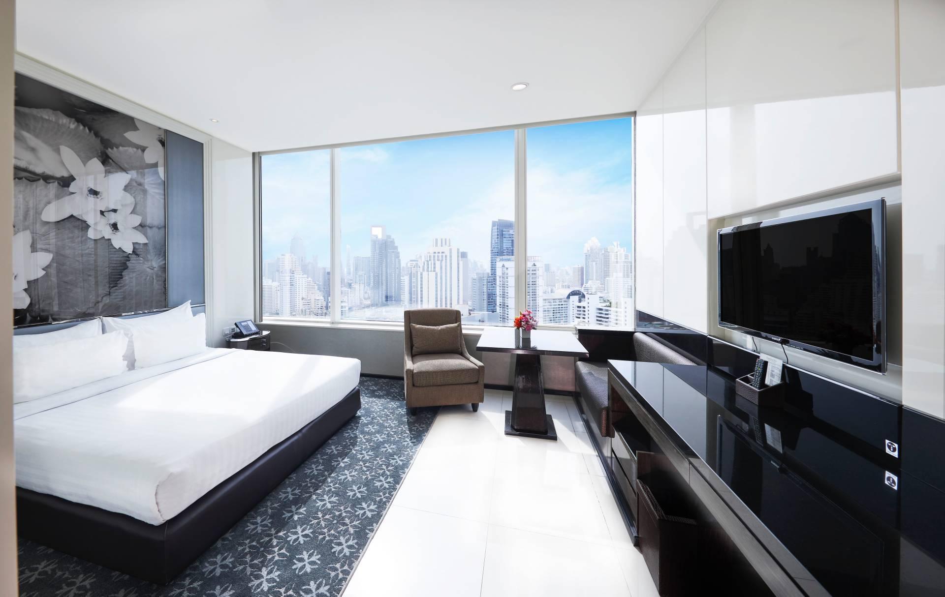 曼谷拉查丹利中心飯店Terminal 21 ASQ隔離住宿 特級豪華房(圖片來源:Grande Centre Point Terminal 21)